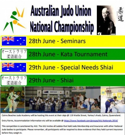 Grab your AJU Nationals Poster